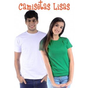 Camiseta Lisa Sem Estampa