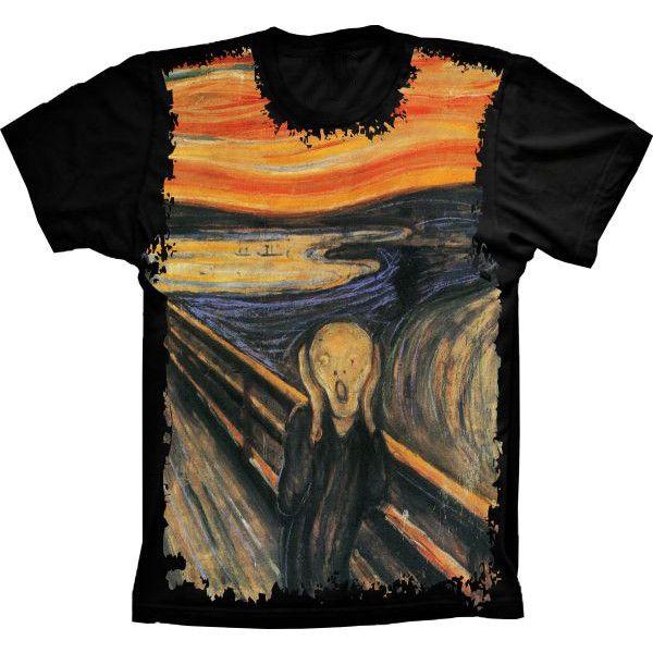 Camiseta Homem Quadro