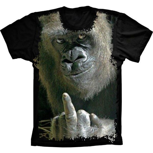 Camiseta Gorila Malandro