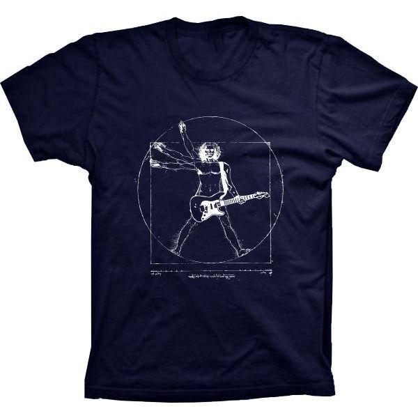 Camiseta Vitruvian Rock