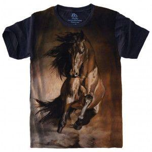 Camiseta Cavalo Horse S-468