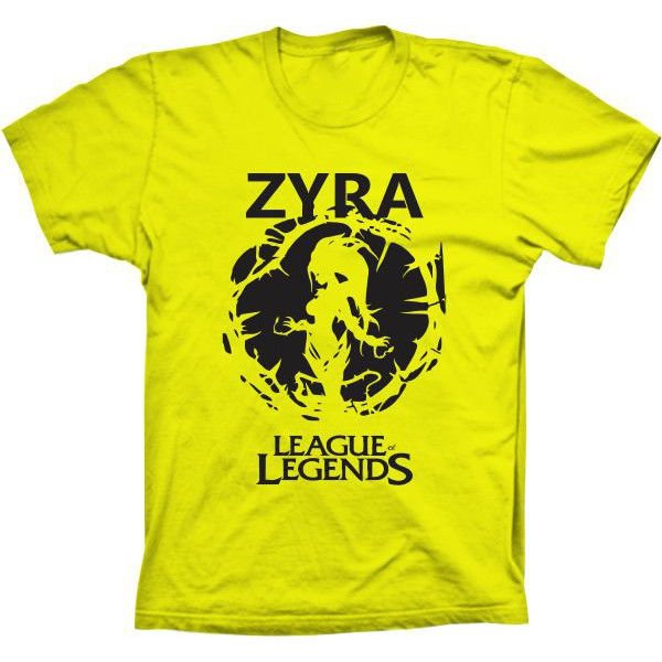 Camiseta League Of Legends Zyra
