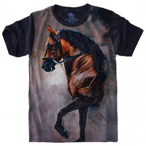 Camiseta Cavalo Horse Égua S-463