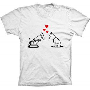 Camiseta Amor De Cão