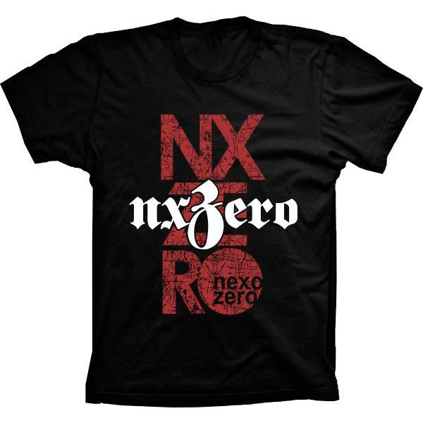 Camiseta NX Zero