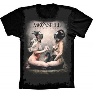 Camiseta Moonspell Alpha Noir
